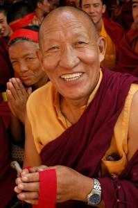 Happy Buddhist Monk